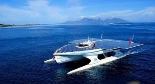世界最大的太阳能动力双体船TURANOR号环球之旅已过半