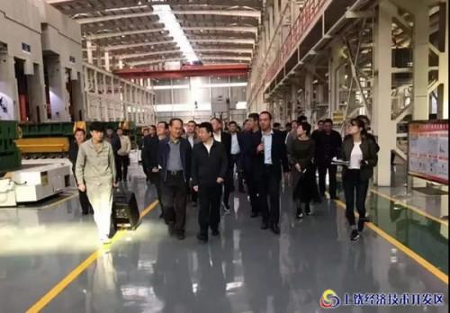 宜春市工口考察团来上饶经开区考察