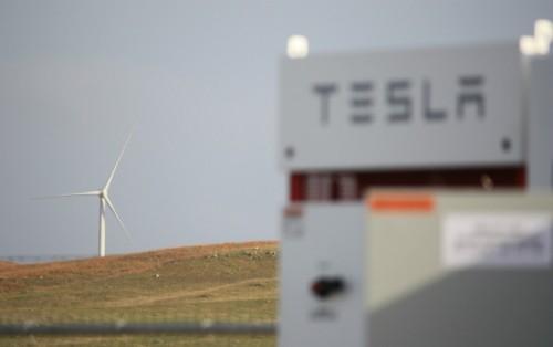 英国石油公司位于南达科他州的25兆瓦风力发电厂安装了特斯拉电池