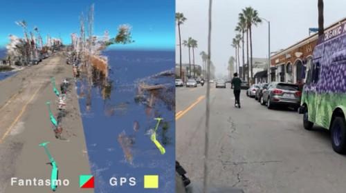 Fantasmo将利用AR追踪无桩电动滑板车