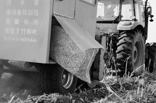 山西浑源县秸秆综合再利用