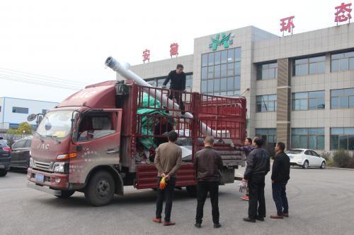 时产1.5吨环态500型生物质环模颗粒机发货吉林