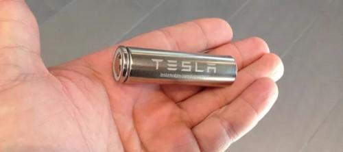 特斯拉正改进电池芯设计