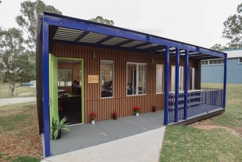 依赖太阳能和电池 Hivve教室完全脱离电网