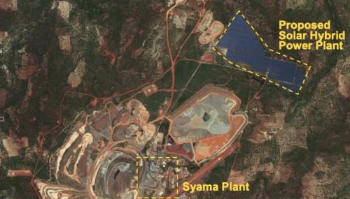 马里金矿以40MW太阳能储能HFO电厂将能源成本减半