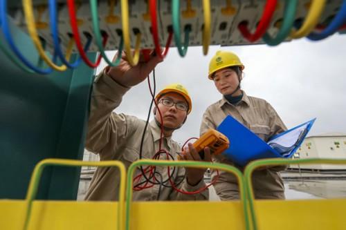 国内规模最大的电池储能电站项目满负荷运行