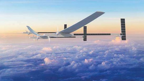 波音公司开发出平流层太阳能无人飞机