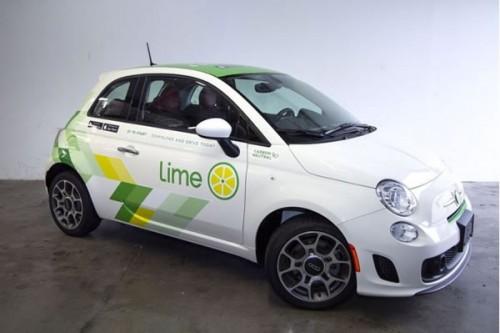 共享滑板公司Lime在西雅图共享汽车服务LimePod