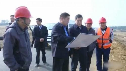 钟祥市林长洲调研督办生物质发电及生活垃圾发电项目