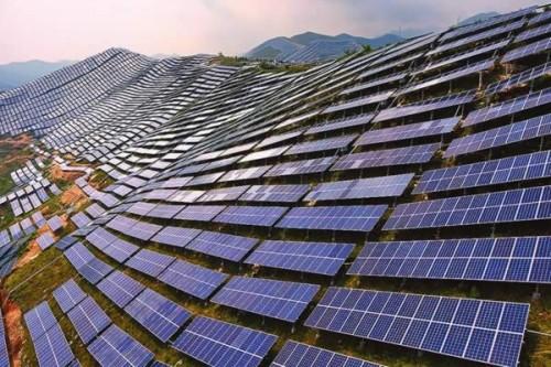山西'十三五'第一批光伏扶贫村级电站实现并网发电