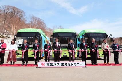 比亚迪第四次在日本交付纯电动巴士