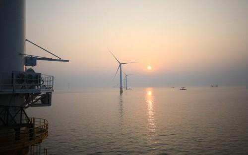 2030年全球海上风力发电能力将超过200GW