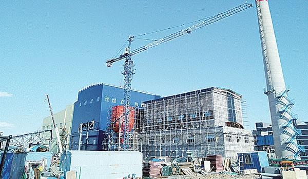 五大连池市生物质发电项目即将竣工发电