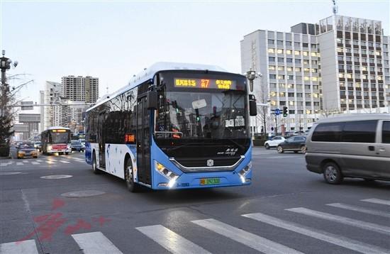 唐山新能源公交车和清洁能源公交车占比达到100%