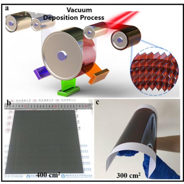 大连化物所等在大面积钙钛矿太阳电池研究中取得进展