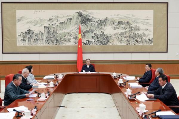 李克強召開國家能源委員會會議 糾正'一刀切'限電