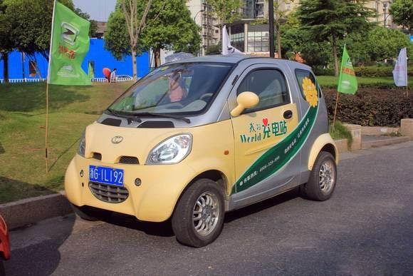 电动汽车时代网记者今天(14日)从杭州电动汽车事业发展有限高清图片