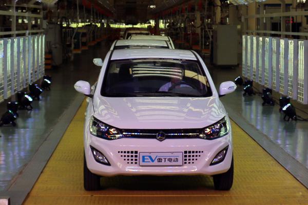 雷丁微型电动车产业正在转型升级高清图片