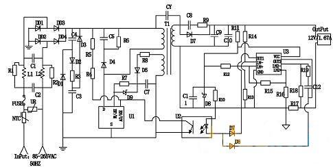 转换率83 以上的 长寿 大功率LED设计