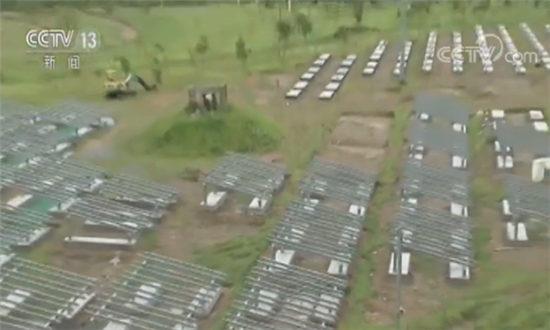"""台当局为实现""""非核家园"""" 太阳能板占绿地引民怨"""