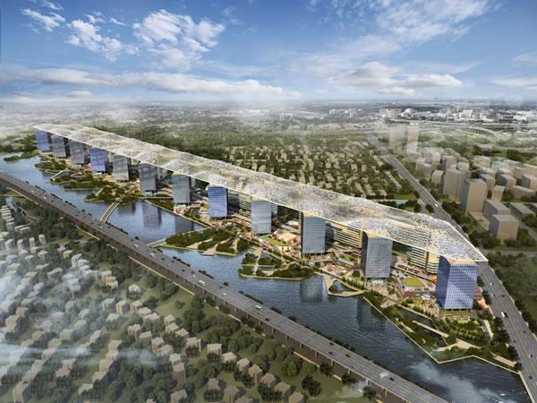 汉能薄膜太阳能技术登顶拉斐尔云廊