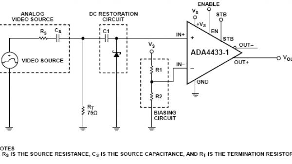 交流耦合视频驱动程序的直流恢复电路图片