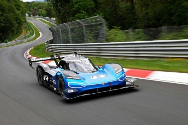 对标特斯拉Roadster 大众旗舰电动超跑ID.R采用秘密电池技术