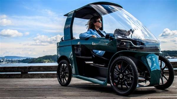 挪威一车企推微型代步车:人力+电动两种动力