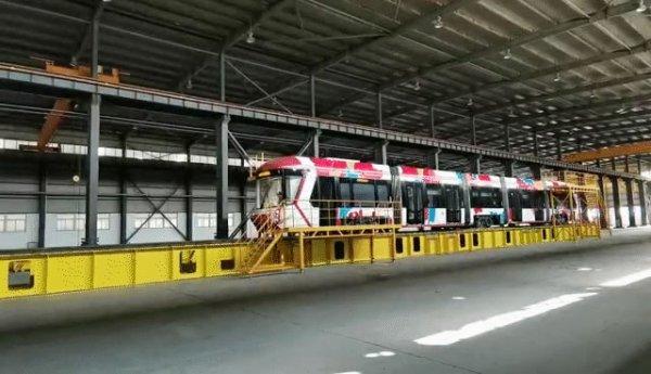 中铁首辆氢能源有轨电车即将下线