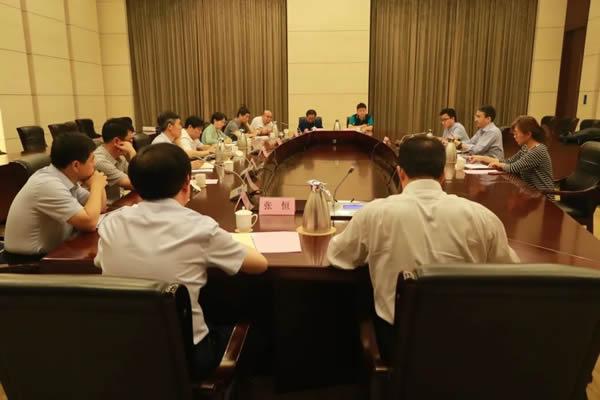 东岳集团与上海捷氢开展合作交流洽谈会