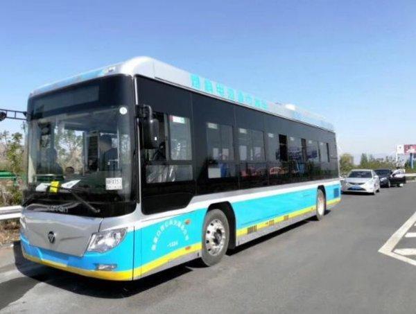 张家口市氢能源电池公交车达到199辆