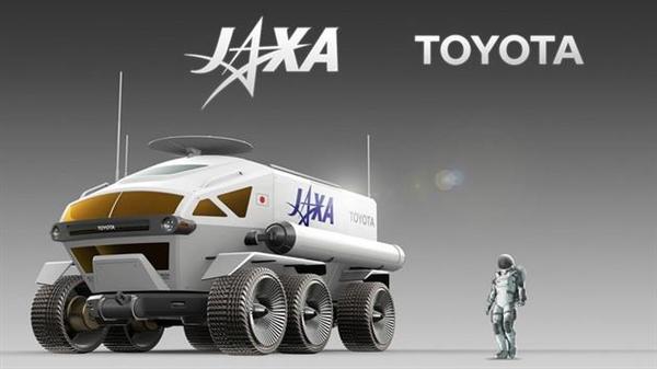 """丰田月球车正式定名""""Lunar Cruiser"""":燃料电池技术 续航可达1.6万公里"""