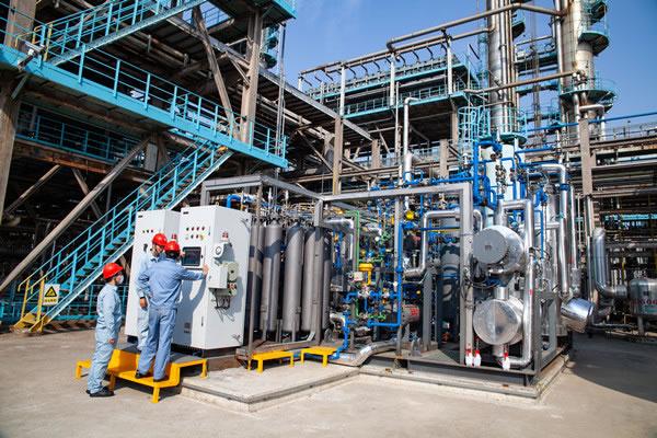 中国石化首套自主产权燃料电池级氢气试验装置开工成功