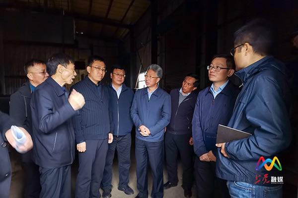 农业农村部调研组在上党区调研生物质供暖工作