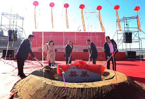 乾安县:200兆瓦渔光互补光伏发电项目开工
