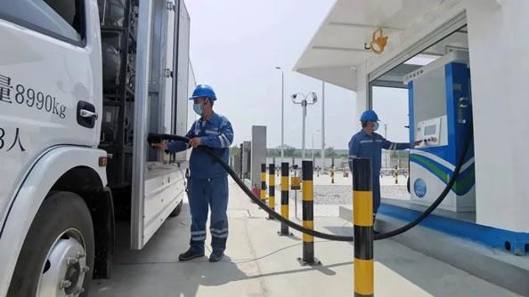 北京延庆首家加氢气站正式落地