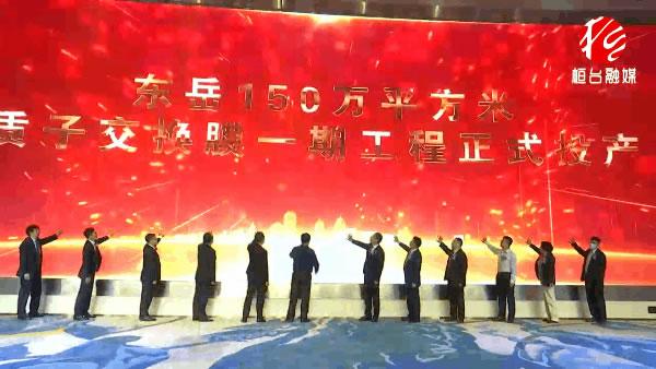 东岳150万平米质子交换膜生产线一期投产!