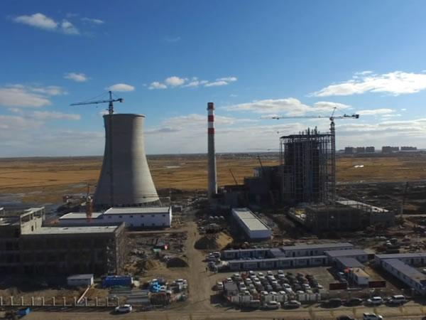 肇源县庆翔生物质发电项目建设进入全盘收尾阶段