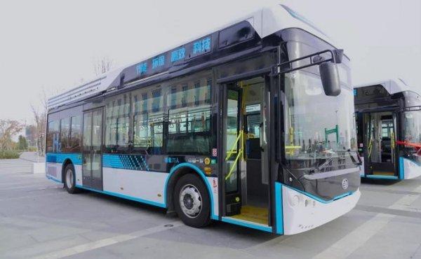 氢燃料电池公交车便利出行 白城市民幸福指数再度提升!