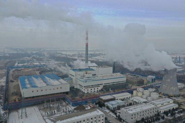 中国能建东电一公司农安生物质发电厂扩建工程2号机组完成试运行