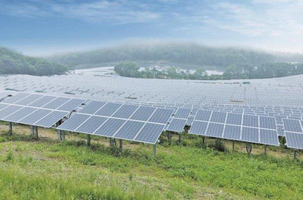 清源股份为日本福岛提供40MW光伏支架产品