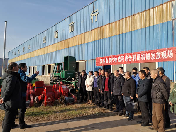 安康:汉阴县农业秸秆综合回收利用再添新举措