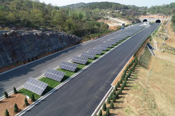 山西交控集团高速公路光伏发电站年发电量超1300万千瓦·时