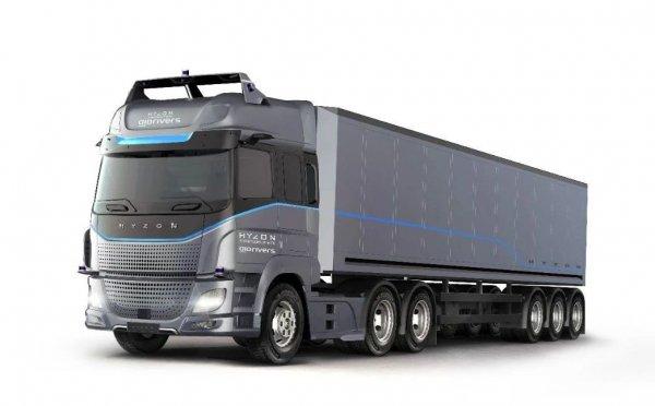 HYZON Motors与英国AIDRIVERS签署协议,共同打造零排放自动驾驶卡车