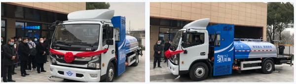 浙江首辆氢燃料电池环卫车投入运行