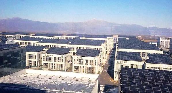 龙源电力在京首个光伏电站项目投产发电