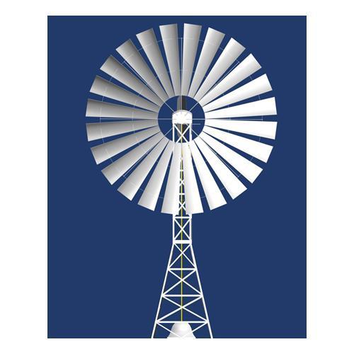 聚风式大功率风力提水机