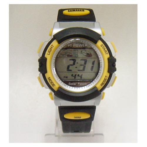 防水太阳能手表