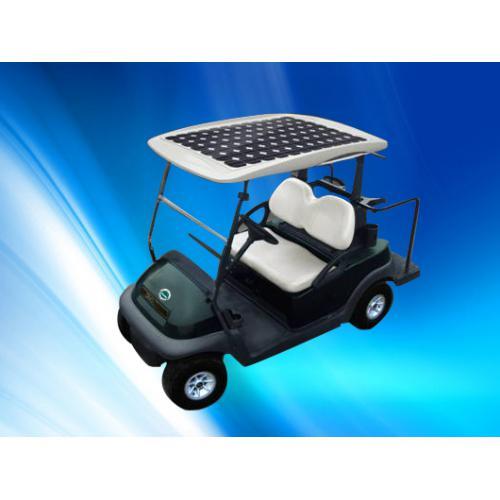 太阳能极板高尔夫车