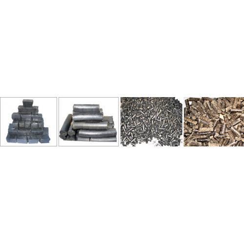 秸秆块(颗粒)煤